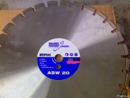 Диск алмазный Lissmac ASW-20, 500, 25. 4 асфальт