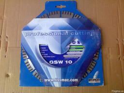 Диск алмазный Lissmac GSW-10, 230/22, 2 бетон, камень