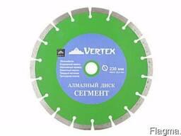 """Диск алмазный """"Vertex"""" 230мм сегмент"""
