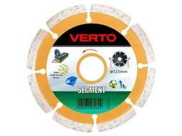 Диск алмазный Verto - 125 мм сегмент