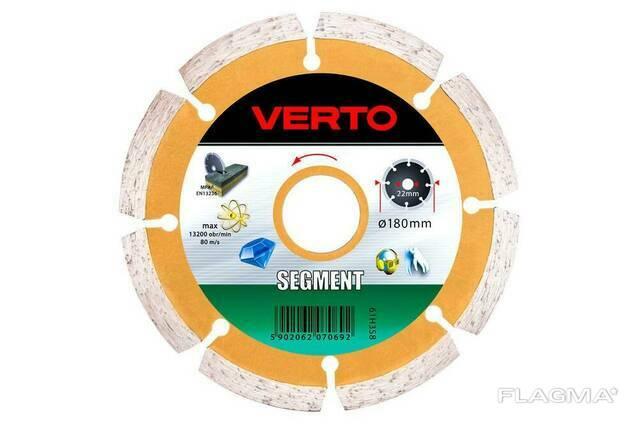 Диск алмазный Verto - 230 мм сегмент