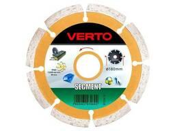 Диск алмазный Verto - 180 мм сегмент