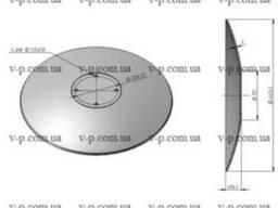 Диск Amazone 460 мм , s-5мм. 120 гладкий
