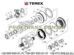 Диск фрикционный КПП TEREX 860 терекс диск тормозной