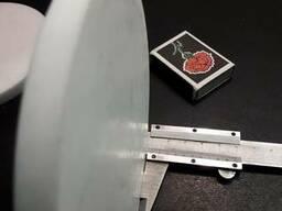 Диск фторопластовый 128 мм х 10 мм