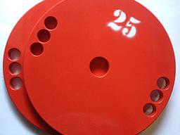 Диск олимпийский металлический 25 кг