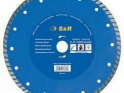 Диск отрезной S&R Turbo по бетону Premium 230