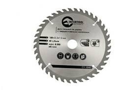 Диск пильный Intertool - 115 х 30T х 22, 2 мм