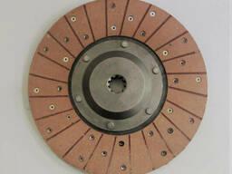 Диск сцепления ведомый Т-40 Т25-1601130-В JFD (красная накладка 68мм)