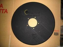 Диск сошника Н 154. 00. 424 (импортная сталь)