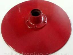 Диск сошника со ступицей сеялка сз двустрочный Н 105. 03. 010-04 ст. 65г Порошковая покраска