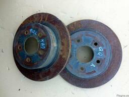 Диск тормозной задний 43206-4EA0A на Nissan Qashqai 06-13 (Н