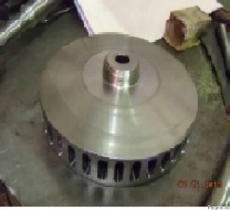 Диск,вал, система смазки распылителя молока ORB, VRA.