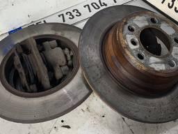 Диски тормозные колодки задние BMW X5 E53.
