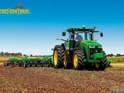 Дисковка почвы, аренда трактора