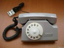 Дисковый телефон ТА-72 производства ВЭФ