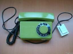 Дисковый телефон Telkom Тюльпан-319 производства Польша