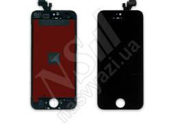 Дисплей apple iphone 5g с черным тачскрином оригинал (tw)