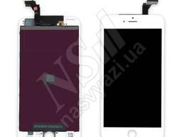 Дисплей apple iphone 6 с белым тачскрином оригинал (tw)