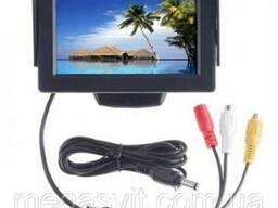Дисплей автомобильный LCD 4. 3'' для двух камер 043