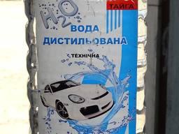 Дистиллированная вода Тайга 1 литр