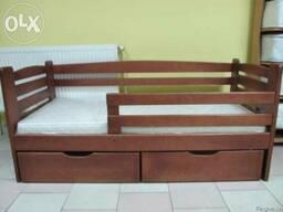 """Дитяче ліжко з бука """"Карлсон"""" - фото 2"""
