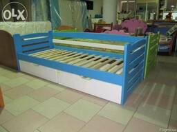 """Дитяче ліжко з бука """"Карлсон"""" - фото 4"""