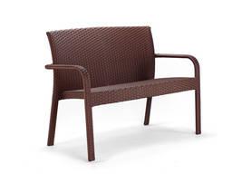 Диван ротанговый Палермо UA, коричневый