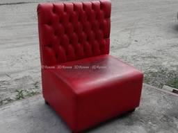 Диваны бу для бара, красные , мягкая мебель б. у в кафе