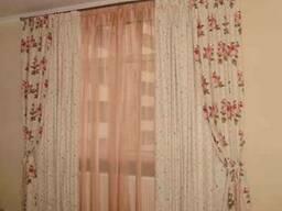 Дизайн и пошив штор.