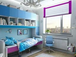 Дизайн інтер'єру дитячої кімнати в Чернігові