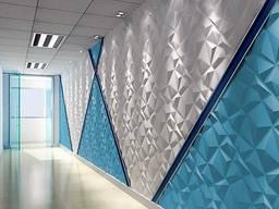 Дизайн интерьера, #3д панели, #Монтаж 3D панелей Киев.