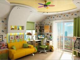 Дизайн интерьера детской в Чернигове