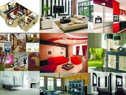 Дизайн интерьера, дизайн квартир под ключ Украинка Обухов Ки