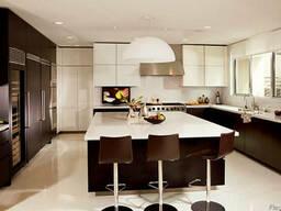 Дизайн интерьера квадратной кухни (мебель, ремонт)