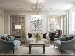 Дизайн интерьера квартиры, дома, ресторана, офиса