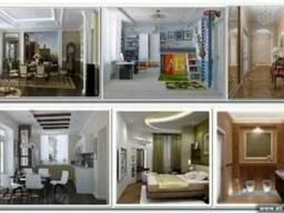 Дизайн интерьеров, ремонт квартир, домов