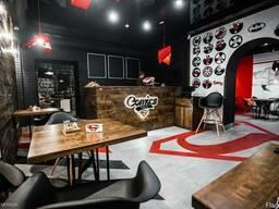 Дизайн Сomics Cafe
