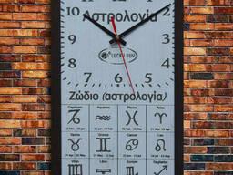 """Дизайнерские настенные часы """"Астрология"""", индивидуальная. .."""