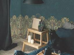 Фотообои в спальню флизелиновые дизайнерские Кашемир Cashmere 465 см х 280 см