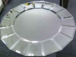 Дизайнерское зеркало с фацетом Umt-14 800*800 мм