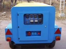 Дизель генератор 15кВт. Дизельный генератор передвижной