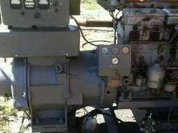 Дизель генератор 50 киловатт Токмак, без наработки, электрос
