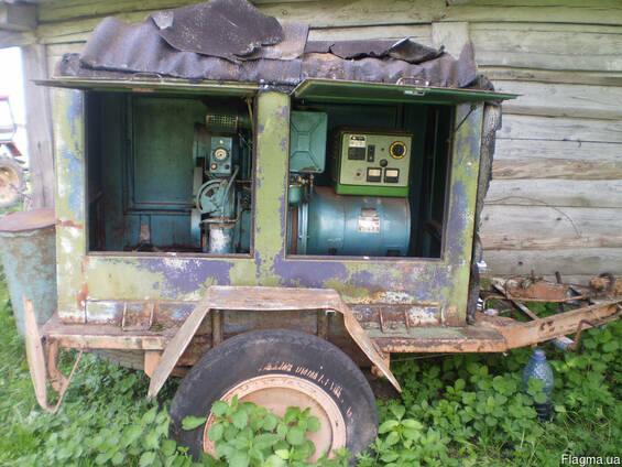 Дизель генератор Flavia (Чехия) 8.8 КВт Трехфазный 380 V . Мо