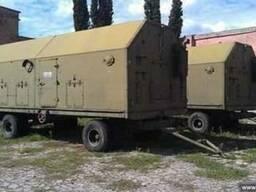 Дизельная электростанция АД-100-Т/400 в кунге на колесах