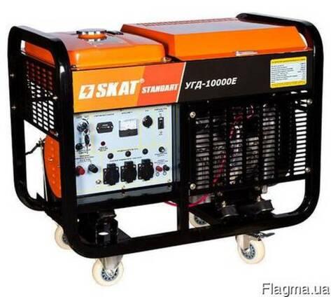 Дизельная электростанция УГД-10000E 9 кВт