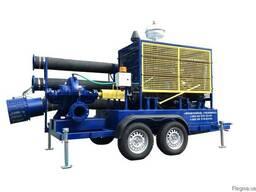 Дизельная насосная станция (установка) 120-240 кВт передвижная