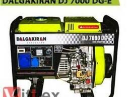 Дизельный генератор Dalgakiran DJ 7000 DG-E.