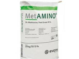 DL-Метіонін DL-Methionine 99% MetAMINO Evonik (Німеччина) 25кг