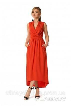 Длинное легкое платье женское (44-50), доставка по Украине